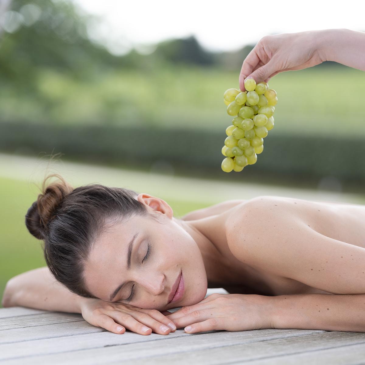 Spa gift voucher: 100% grapes ritual